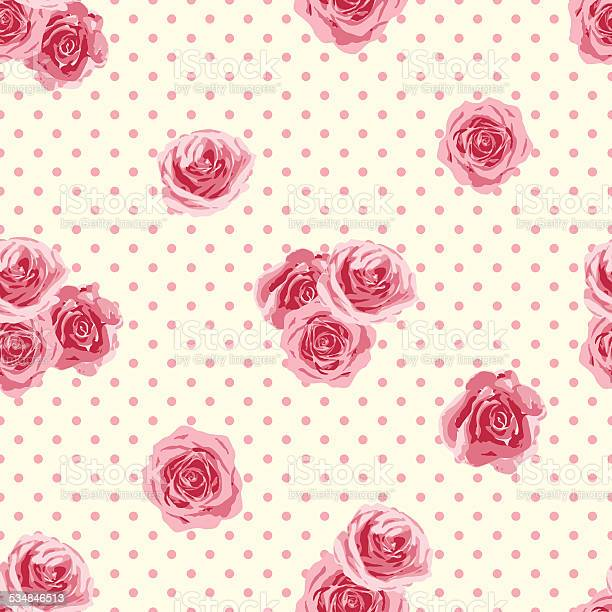Flower seamless pattern with roses vector illustration vector id534846513?b=1&k=6&m=534846513&s=612x612&h=imzfoe0y4royjw87e9sri5rt2fnhuwkozecg9xtkhkw=