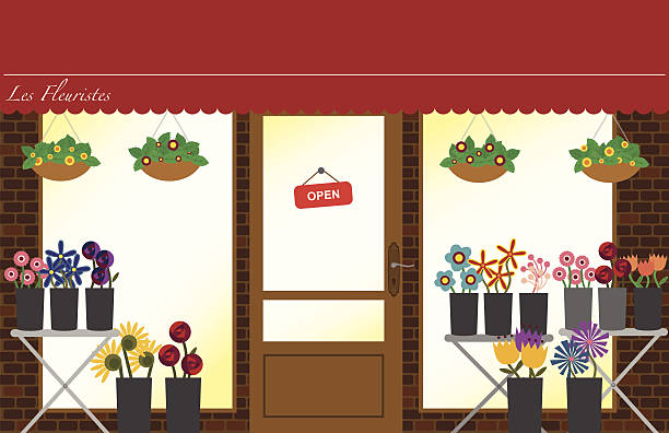Royalty Free Flower Shop Clip Art, Vector Images ...