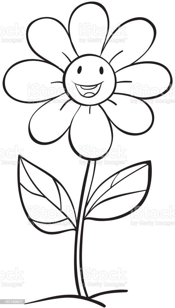 flower sketch royalty-free flower sketch stock vector art & more images of animal