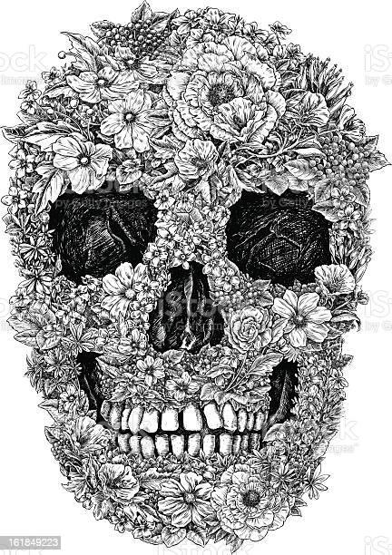 Flower skull linework vector vector id161849223?b=1&k=6&m=161849223&s=612x612&h=hcdedp lqhmbbyk9b3ugzgikuzwpmxduwpga40aiu7c=