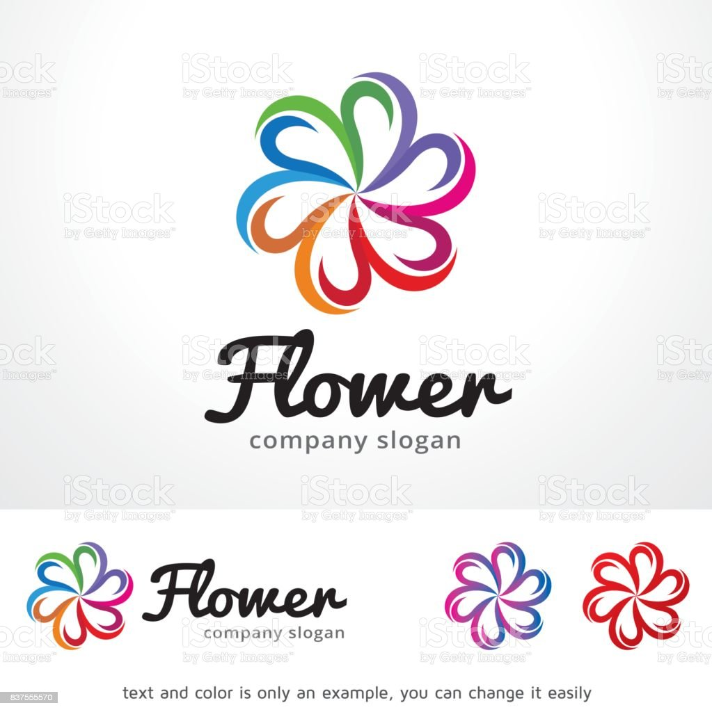 Flower symbol template design vector emblem design concept flower symbol template design vector emblem design concept creative symbol icon royalty biocorpaavc Choice Image