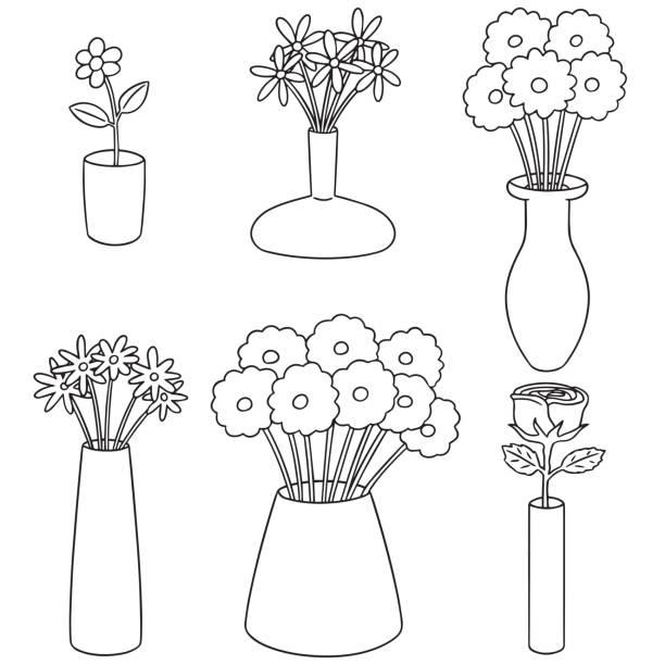 Royalty Free Flower Vase Clip Art Vector Images Illustrations