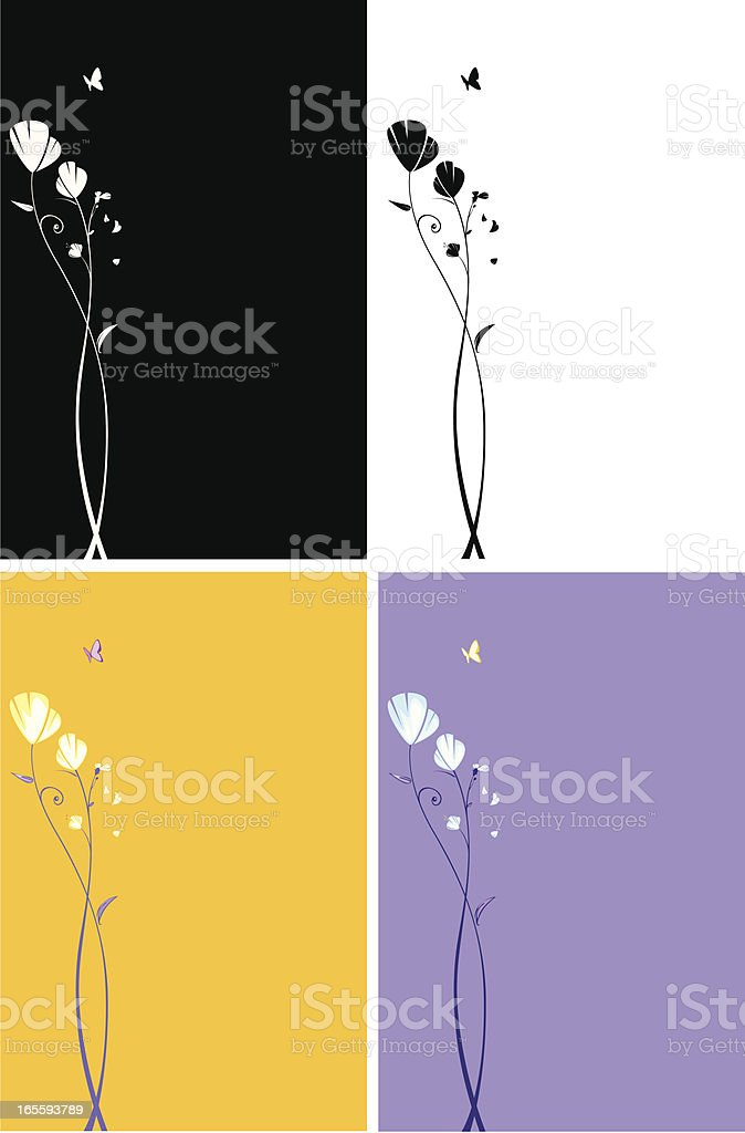 Flower royalty-free flower stock vector art & more images of arts culture and entertainment