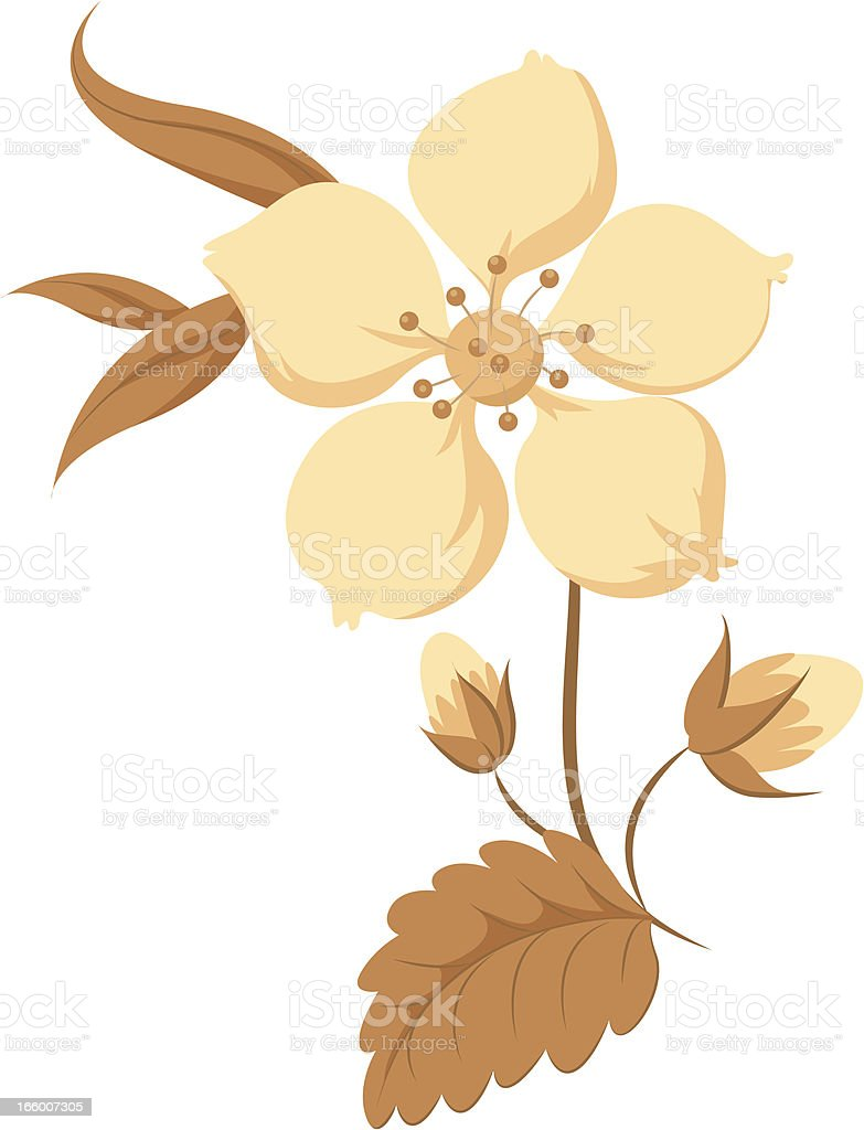 Flower royalty-free flower stock vector art & more images of art and craft