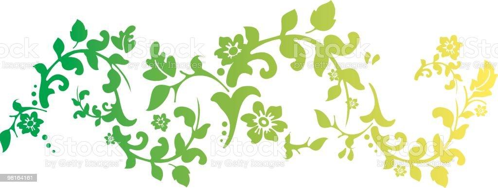 Fiore vite fiore vite - immagini vettoriali stock e altre immagini di bocciolo royalty-free