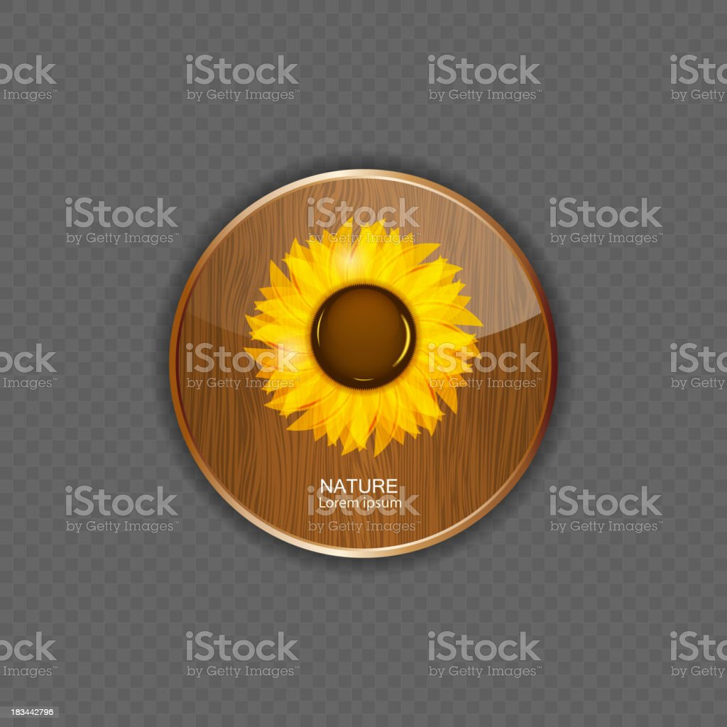 Flower wood application icons vector illustration royalty-free flower wood application icons vector illustration stock vector art & more images of abstract