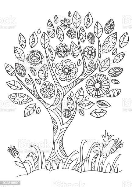 Flowering tree in doodle style vector id905848592?b=1&k=6&m=905848592&s=612x612&h=exb vp2ve6ncc0n6umsox3s6vxjhovmtlga4bvcjfja=