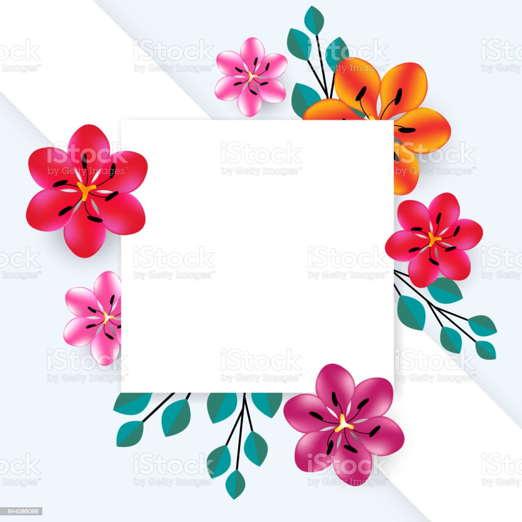 flowers abstract floral background angle multicolored pattern bright