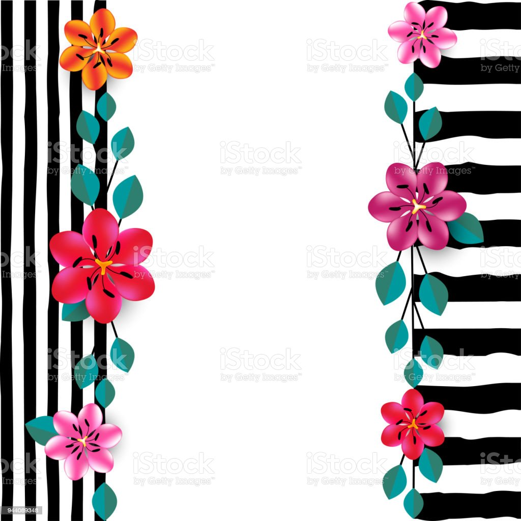 flowers abstract floral background angle multicolored