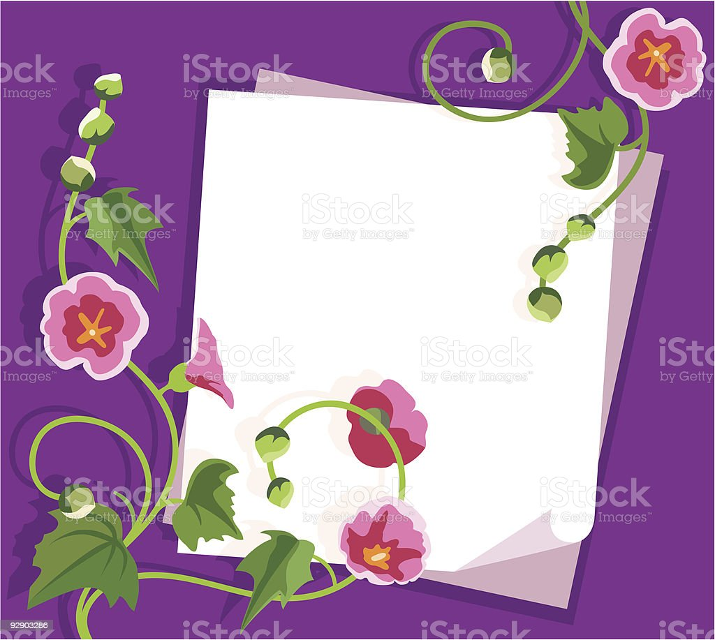 Flowers background royalty-free flowers background stock vector art & more images of backgrounds