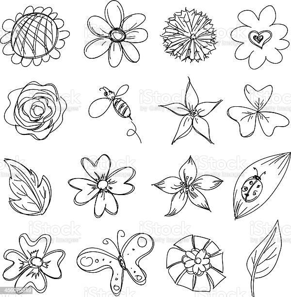 Flowers collection in black and white vector id456075349?b=1&k=6&m=456075349&s=612x612&h= jq1r35zo fnra1benesvcbtpnmyszsvwu0jngocrk0=
