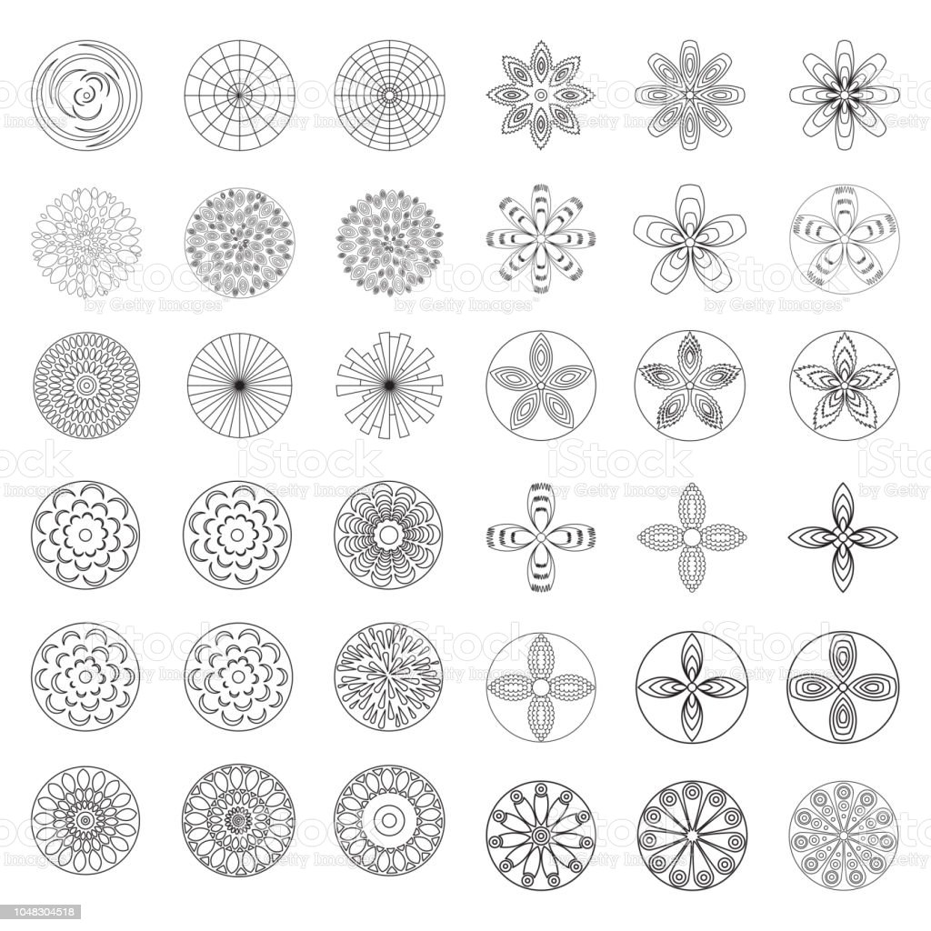 Ilustracion De Flores Diseno De Elemento De Pagina De Libro Para