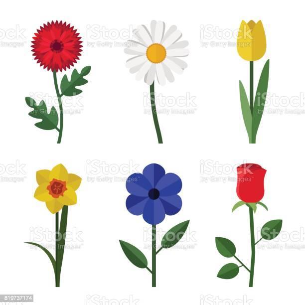 Flowers flat icons vector id819737174?b=1&k=6&m=819737174&s=612x612&h=rfhtp10d4nsz609sxvnsstesfyk blausyp exer6eq=