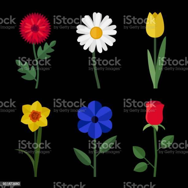 Flowers flat icons vector id931873680?b=1&k=6&m=931873680&s=612x612&h=sqzyatddc6wf7ih80dg0dzplxwzmyvqkiw3y2yxgwe4=