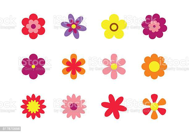 Flowers flat style isolated on white set colorful floral icons vector id517870556?b=1&k=6&m=517870556&s=612x612&h=bnoar9asaw5fymegcx1gvsqjl0v74drzlas pt4igji=