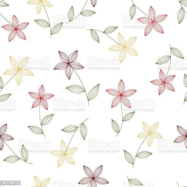Flowers seamless isolated vector id511737712?b=1&k=6&m=511737712&s=612x612&h=lcmxl665pzcs2ucaom6y9cb72ap yfs ys4uduzfn9c=