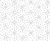 Flowers. Seamless pattern of flowers on white background. Vector illustration