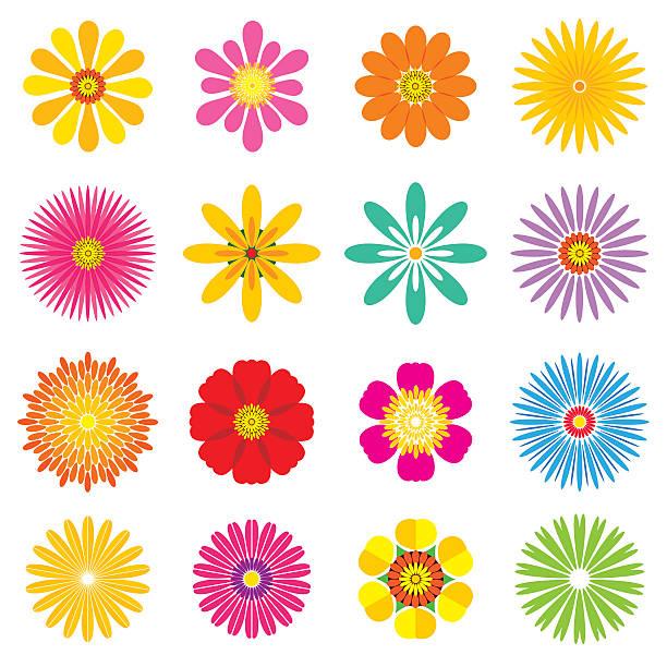 single flowers clip art)