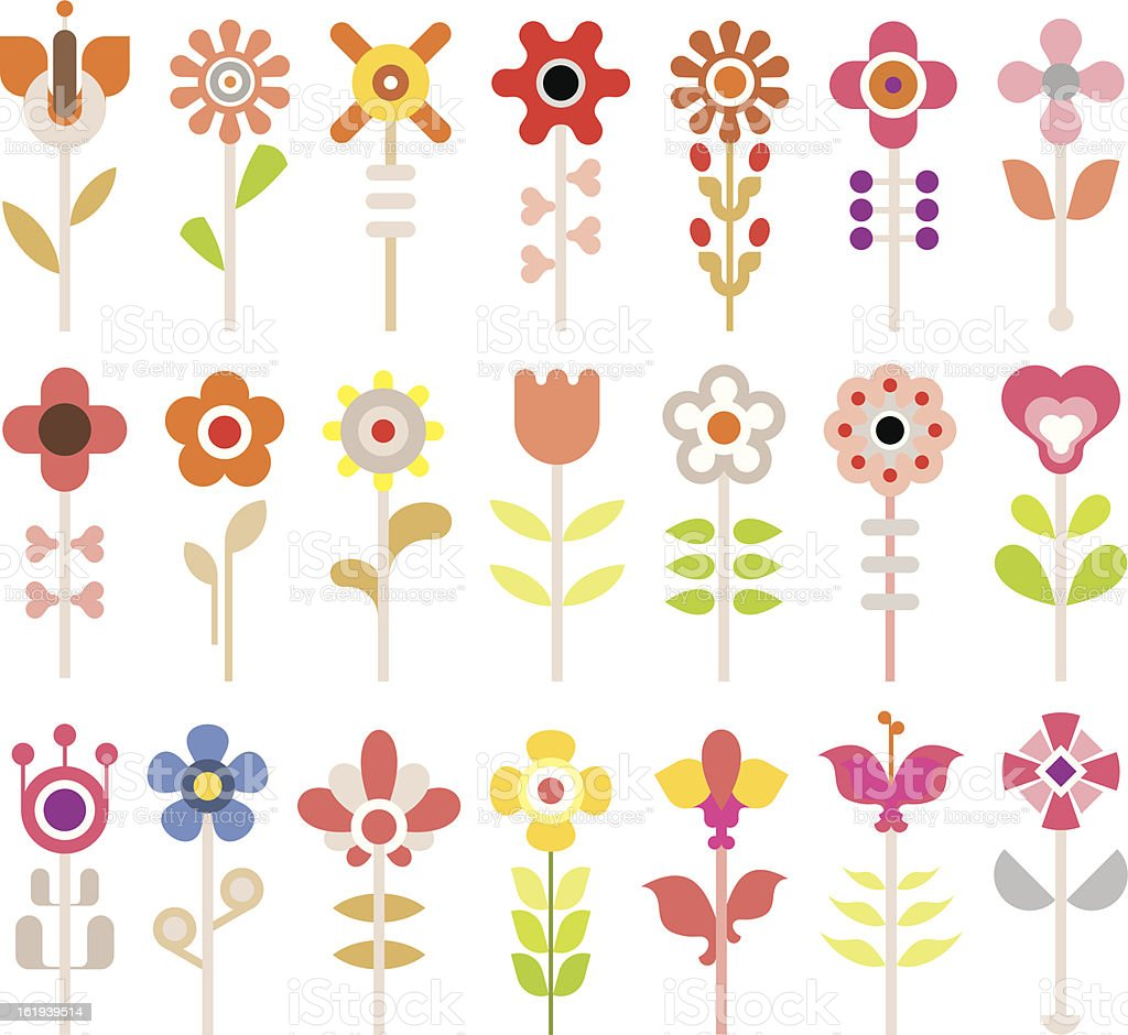 Flowers royalty-free flowers stock vector art & more images of abstract