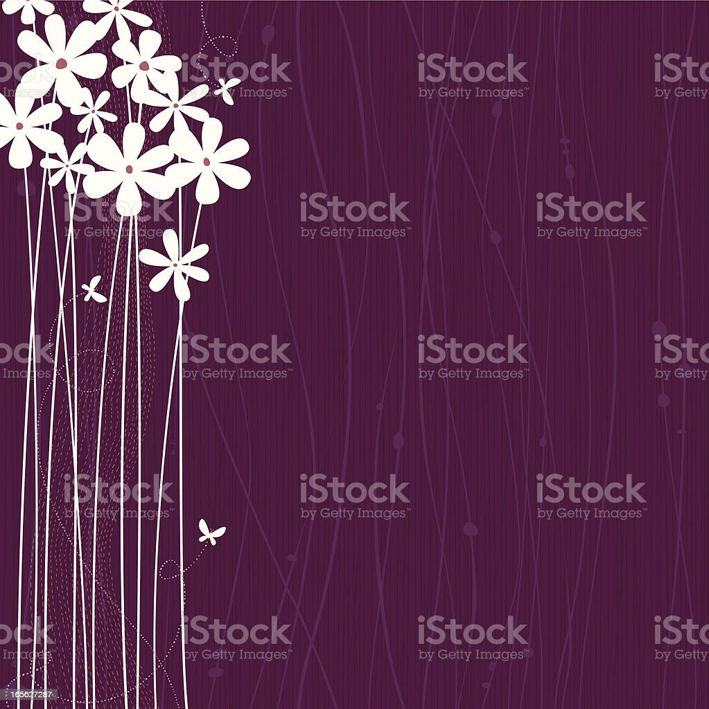 Flowers royalty-free flowers stock vector art & more images of backdrop - artificial scene