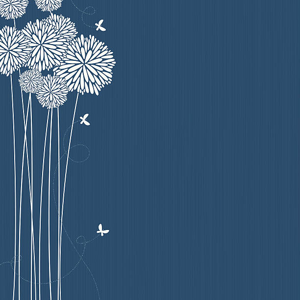 bildbanksillustrationer, clip art samt tecknat material och ikoner med flowers - flower bouquet blue and white