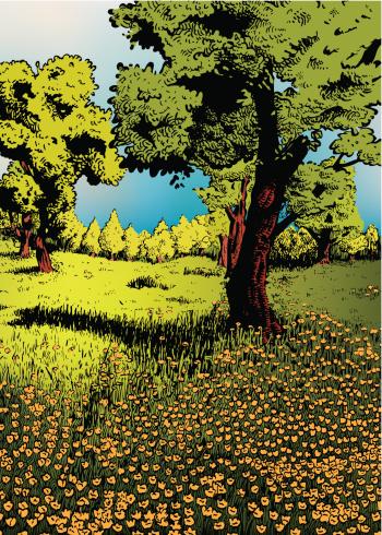 Flowery Meadow II