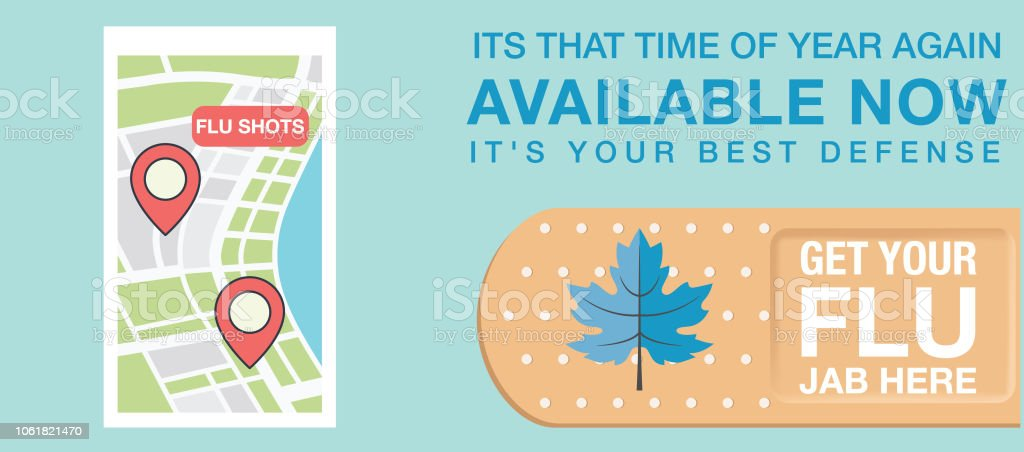 Flu Shot Web Banner Stock Illustration Download Image Now Istock
