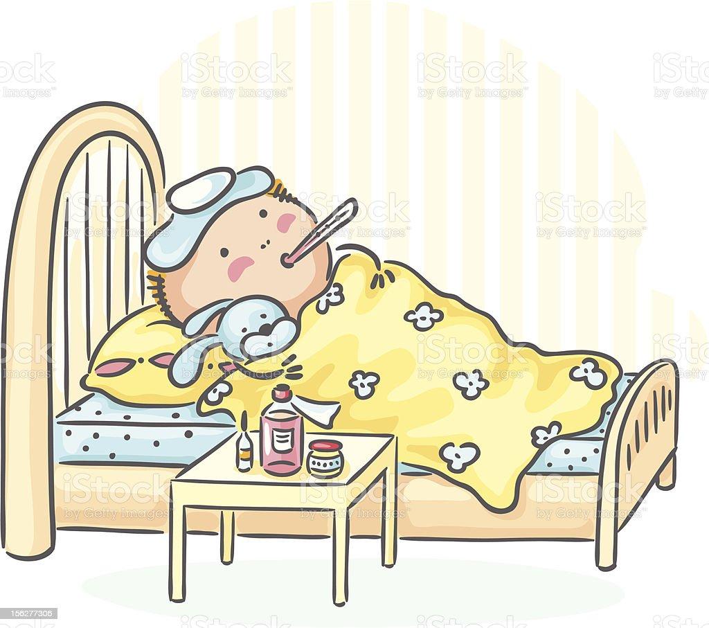 Flu royalty-free stock vector art