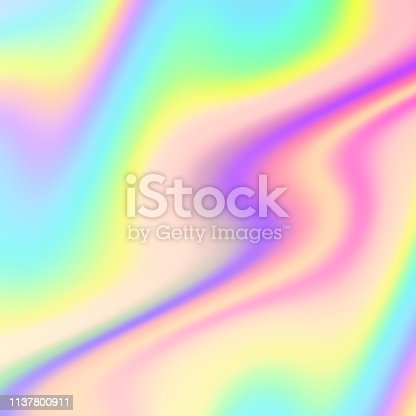 Liquid color abstract background. Vector illustration.