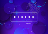 Liquid color background design. Fluid gradient shapes futuristic poster illustration. Eps10 vector.