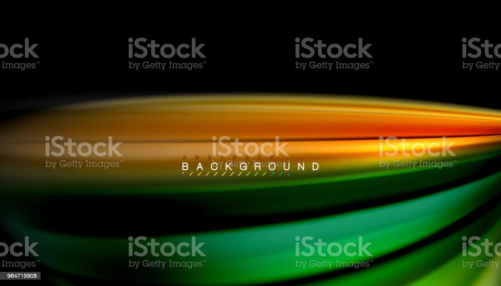 Fluid mixing colors, vector wave abstract background royalty-free fluid mixing colors vector wave abstract background stock illustration - download image now
