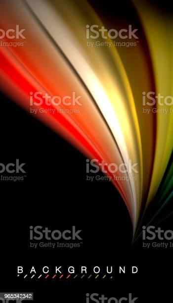 벡터 파 추상 배경 색상을 혼합 하는 유체 0명에 대한 스톡 벡터 아트 및 기타 이미지