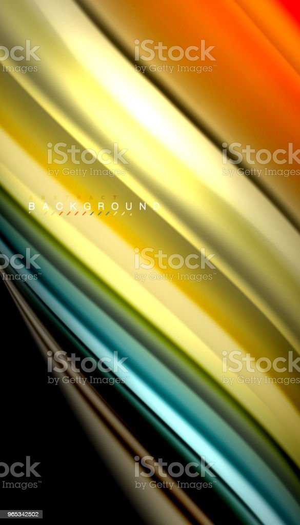 Fluid mixing colors, vector wave abstract background royalty-free fluid mixing colors vector wave abstract background stock vector art & more images of abstract