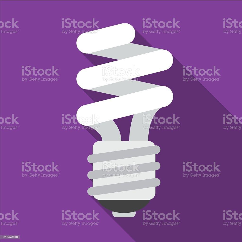 Fluorescent flat icon illustration vector art illustration