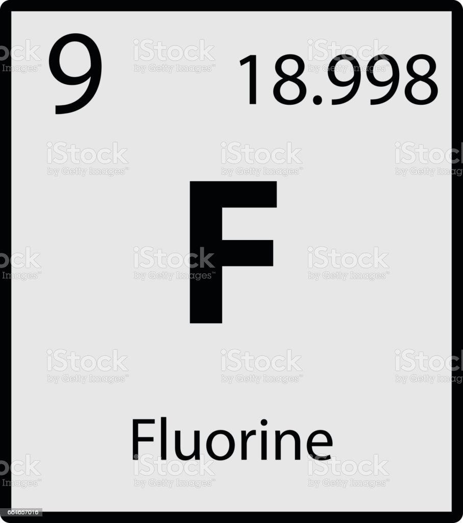 Fluorine periodic table element gray icon on white background vector fluorine periodic table element gray icon on white background vector royalty free fluorine periodic table urtaz Image collections