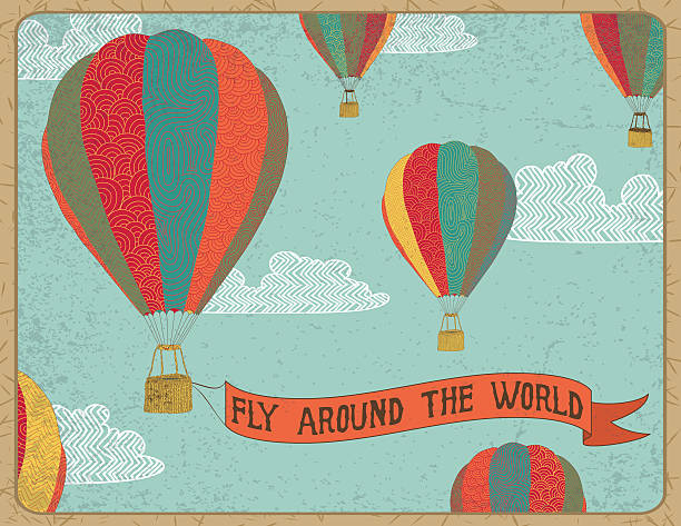 Fly arround the world
