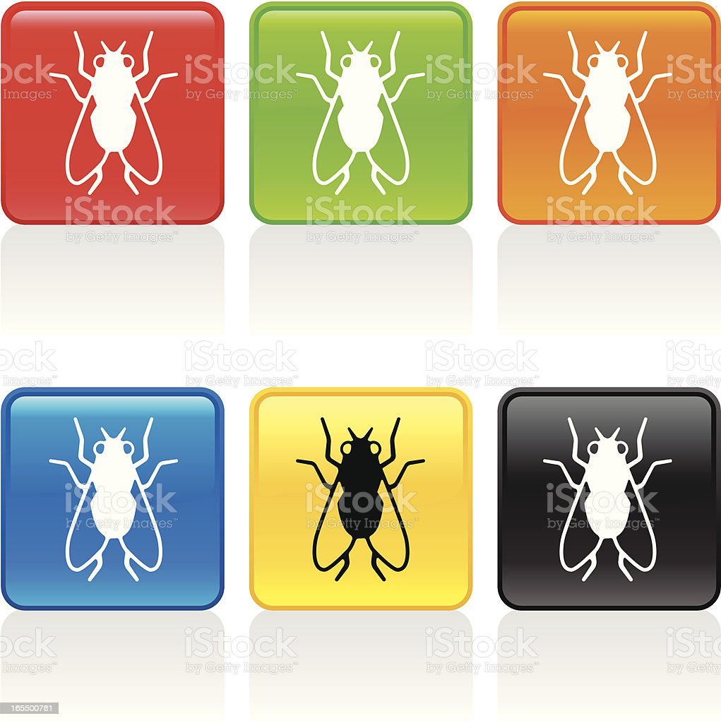 Fly Icon royalty-free stock vector art