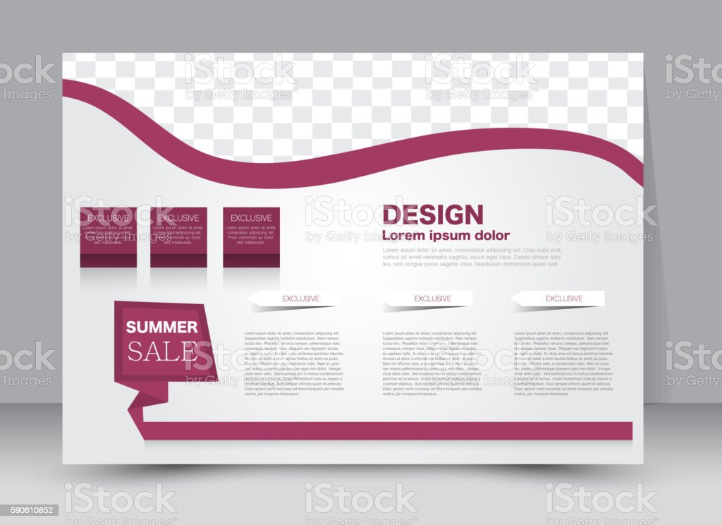 Flyer, brochure, billboard, magazine cover template design landscape...