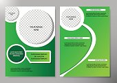 Flyer cover business brochure vector design, Leaflet advertising abstract background, Modern poster magazine layout template, An