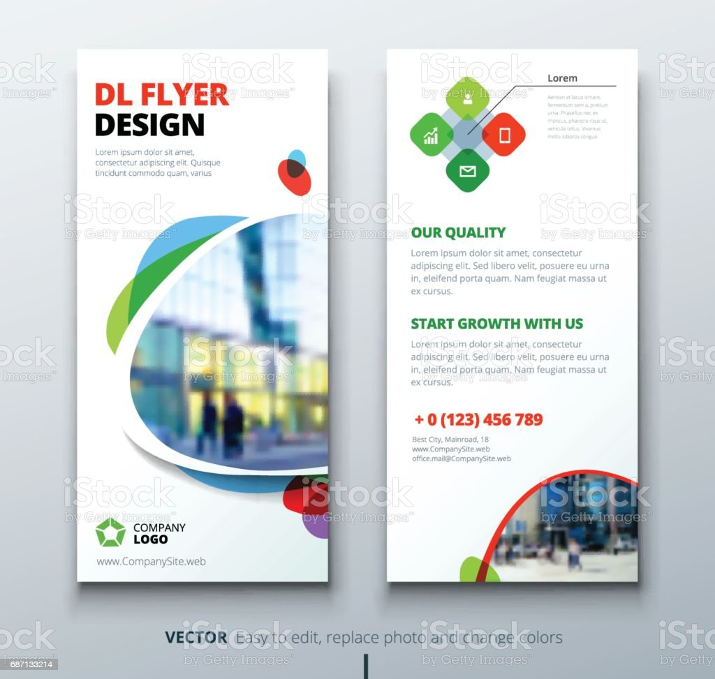 Dl Flyer Design Corporate Business Template For Dl Flyer With Color ...