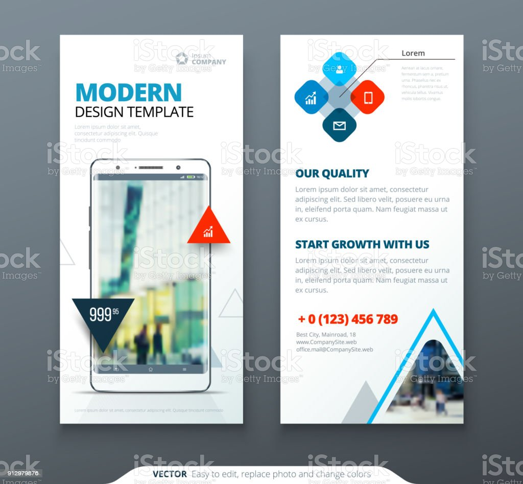 Dl Flyer Design Template Dl Flyer Banner Layout With Modern Triangle ...