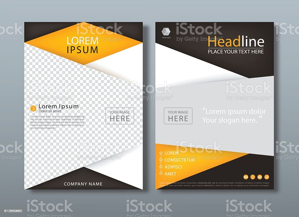 flyer design template vector book cover templates