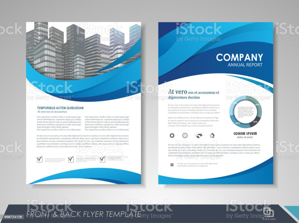 flyer layout stock vector art more images of abstract 958724126
