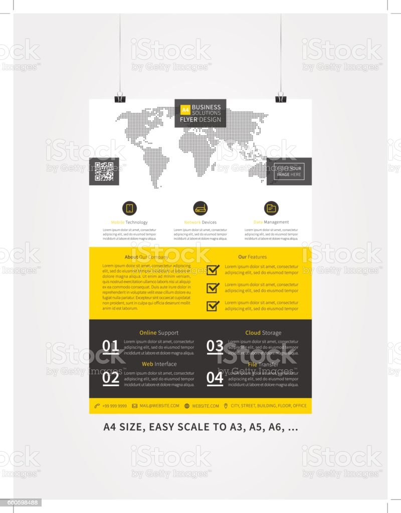 Flyer layout vector illustration royalty-free flyer layout vector illustration stock vector art & more images of abstract