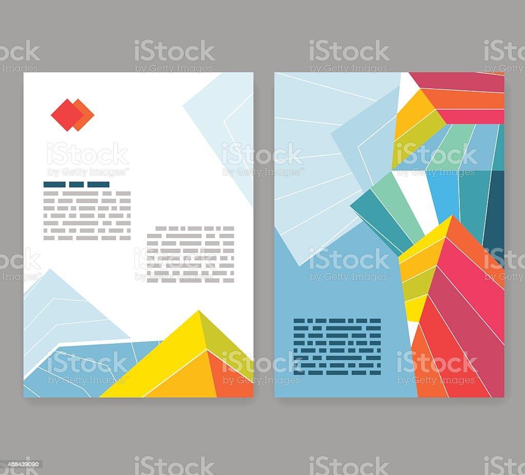 Brochure Depliant Brochure Layout Conception Modifiable Modele A4