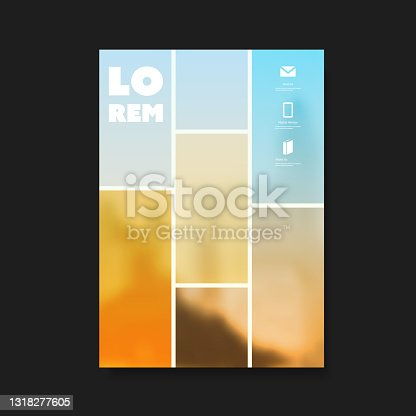 istock Flyer or Cover Design - Business 1318277605