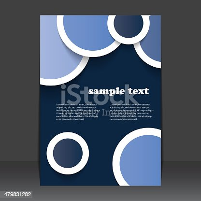 istock Flyer or Cover Design 479831282