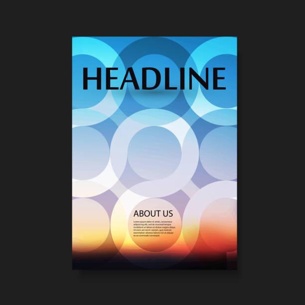 flyer oder cover-design - fotografieanleitungen stock-grafiken, -clipart, -cartoons und -symbole
