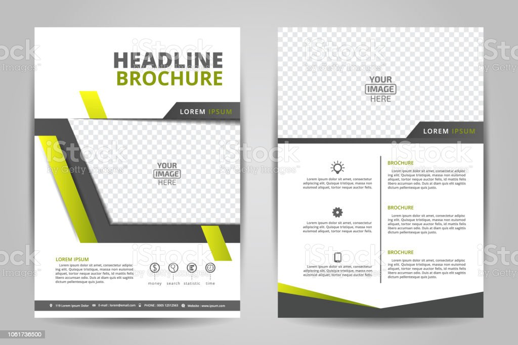 Flyer Template Business Brochure Editable A4 Poster For Design Education  Presentation Website Magazine Cover Stock Illustration - Download Image Now
