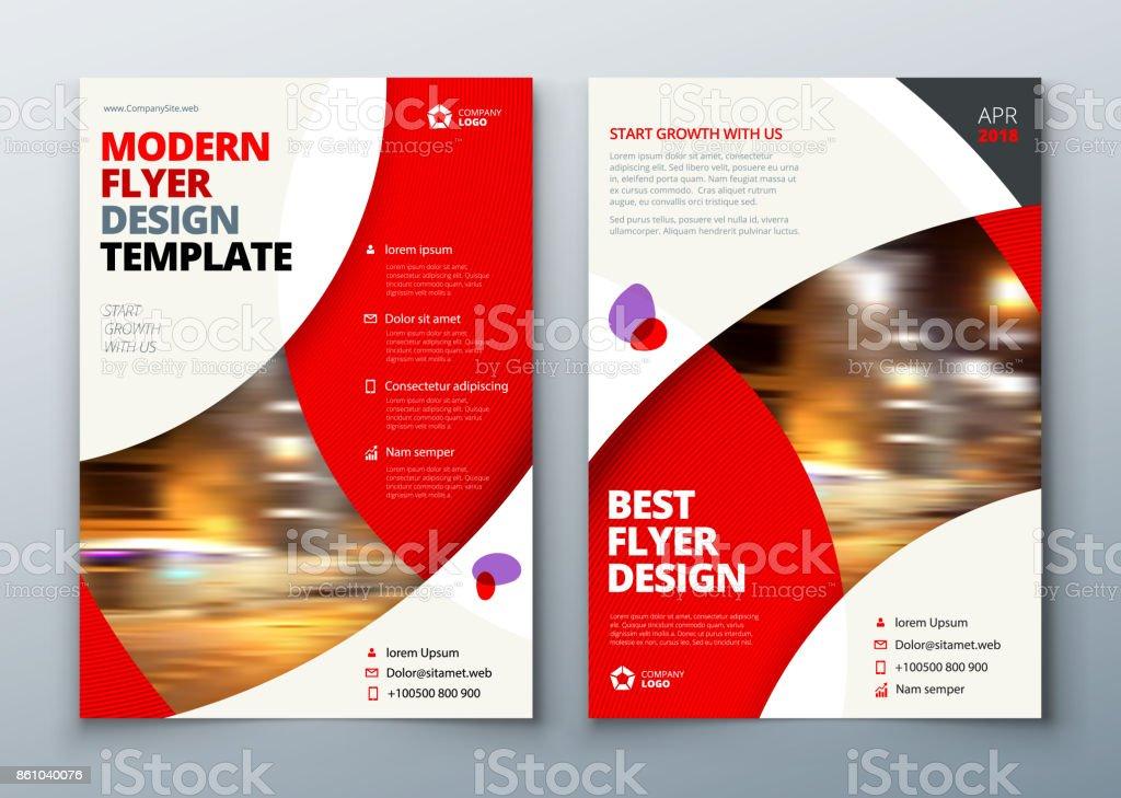 flyer template layout design business flyer brochure magazine or